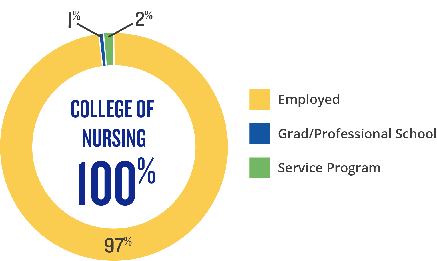 Nursing Outcomes Infographic